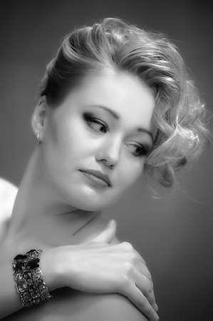 Retro jewelry woman Stock Photo - 14187102