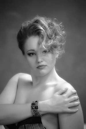 Retro jewelry woman Stock Photo - 14187120