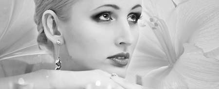 Beautiful blonde Stock Photo - 14191425