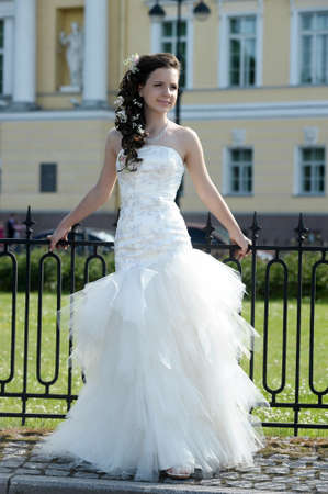 Young bride Stock Photo - 14403131