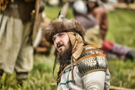 volkhov: The museum-preserve Old Ladoga (Leningrad, Volkhov district,. Staraya Ladoga) annual military-historical festival early Middle Ages First Capital of Russia.