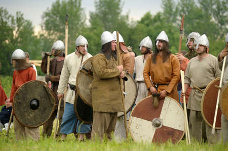 cross armed: annual military-historical festival early Middle Ages First Capital of Russia. Editorial