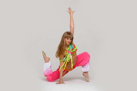 limber: girl gymnast