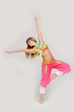 athleticism: girl gymnast