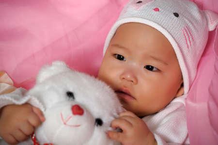 kleine Koreaanse meisje