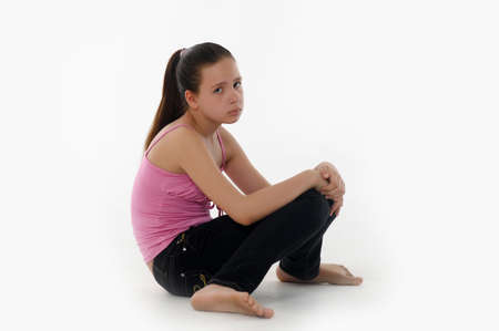 girl teenager upset  Stock Photo - 14494663
