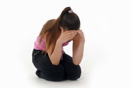 girl teenager upset Stock Photo - 14494665