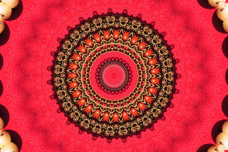 red circular ornament photo