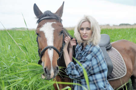 Gorgeous Horserider  photo