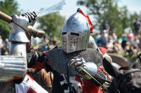 Festival of medieval knighthood  Stock Photo - 17914083