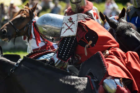 Festival of medieval knighthood  Stock Photo - 17914075