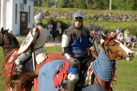 Festival of medieval knighthood  Russian fortress - 2012