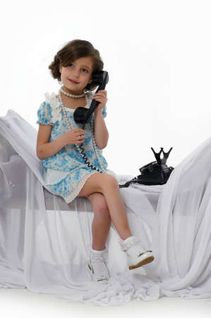 youngbaby: retro photo girls phone conversations