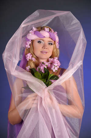 sexual pleasure: The flower fairy with lilacs
