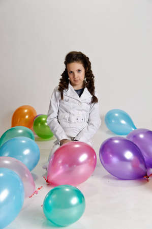 Balloon Party Girl photo