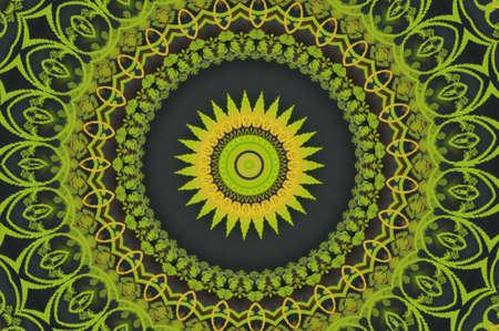 celerity: adorno circular verde