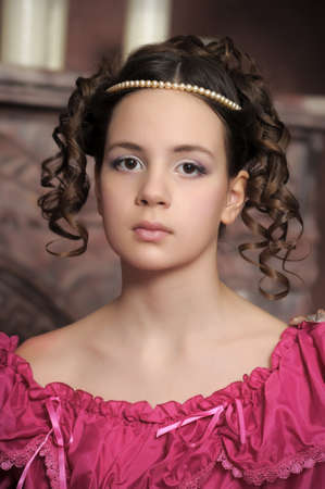 hairdress: Young victorian lady