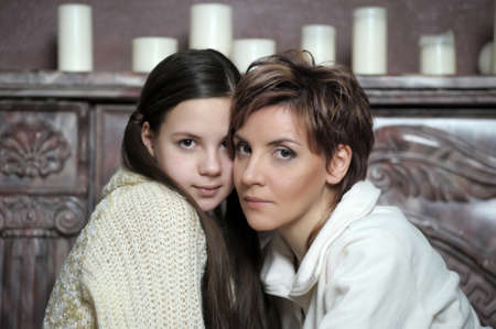 Mother and daughter Stock Photo - 15483485