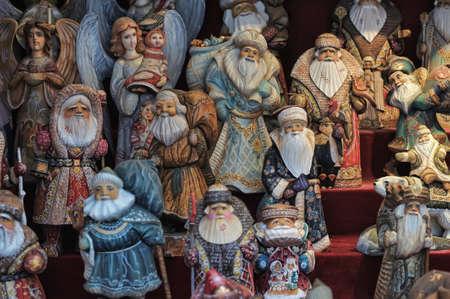 Christmas photo with Santa Claus Stock Photo - 15151303