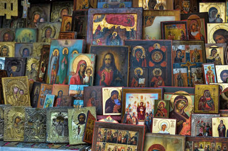 jesus paintings: Icons
