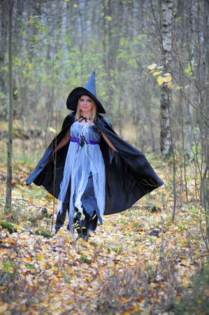 witch in the forest Stock Photo - 15148568