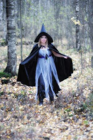 witch in the forest Stock Photo - 15148567