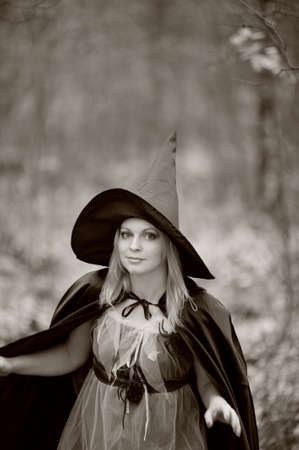 witch in the forest Stock Photo - 15148549