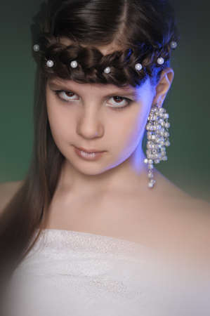 portrait of a young Princess Stock Photo - 15152927