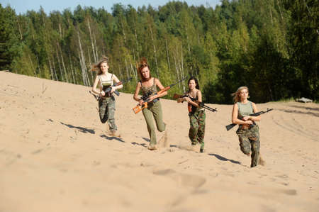 four armed girl Stock Photo - 15975938