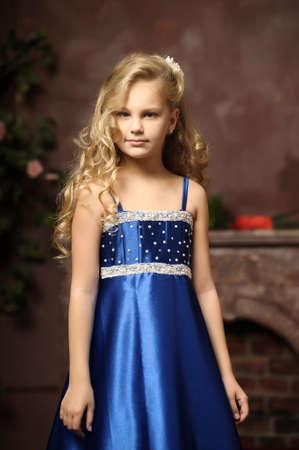beautiful blond girl in retro style Stock Photo - 16194377