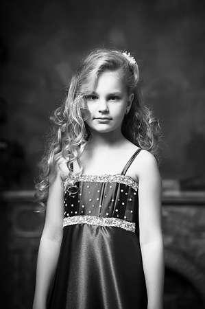beautiful blond girl in retro style Stock Photo - 16194398
