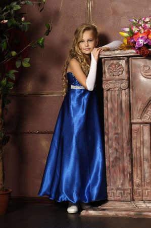 beautiful blond girl in retro style Stock Photo - 16194393