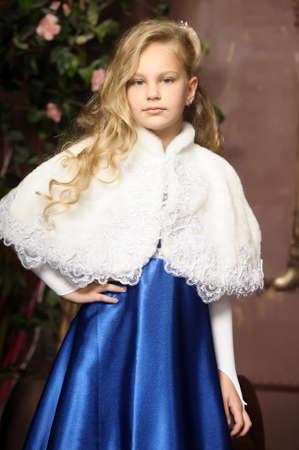 beautiful blond girl in retro style Stock Photo - 16194379