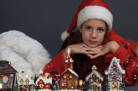 Christmas Portrait Stock Photo - 15305297