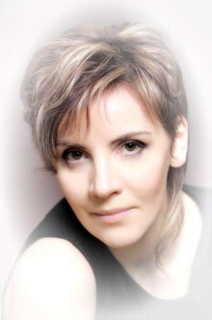 Portrait of a beautiful  woman Stock Photo - 15352962