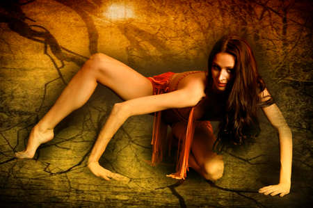 sexy witch Stock Photo - 15397149