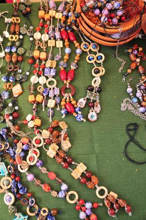 Ceramic beads necklace Stock Photo - 15809846