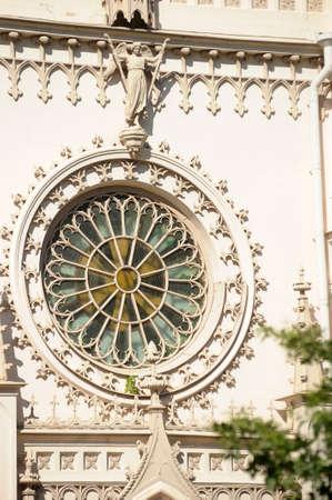 alexandria: Gothic chapel in Alexandria park Stock Photo