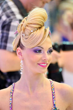International Beauty Expo Championship on Hairdressing, Nail Design and Make-up for the Cup of Russia  International Festival of Beauty Nevskie berega Russia, St  Petersburg Editorial
