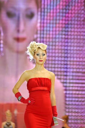 International Beauty Expo Championship on Hairdressing, Nail Design and Make-up for the Cup of Russia  International Festival of Beauty Nevskie berega Russia, St  Petersburg
