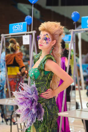 International Beauty Expo Championship on Hairdressing, Nail Design and Make-up for the Cup of Russia. International Festival of Beauty