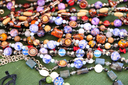 Ceramic beads necklace Stock Photo - 15809679