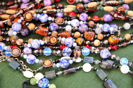 Ceramic beads necklace Stock Photo - 15809680