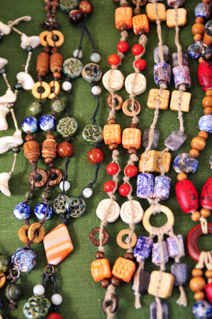 Ceramic beads necklace Stock Photo - 15809662