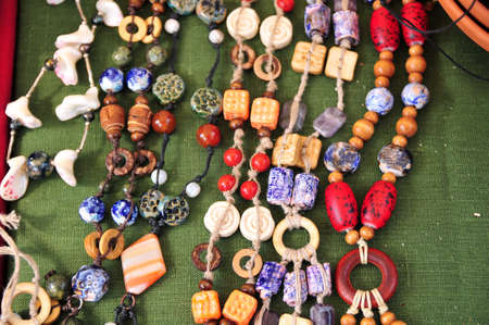 Ceramic beads necklace Stock Photo - 15809664