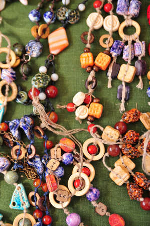 Ceramic beads necklace Stock Photo - 15809657