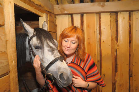 fort collins: a woman with a horse