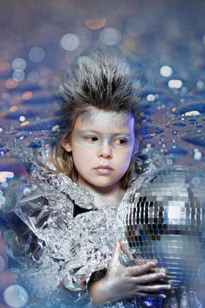 boy in silver photo