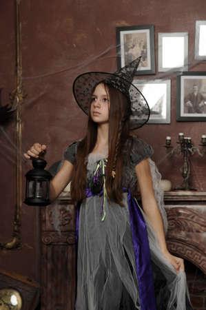 Halloween witch Stock Photo - 19000558