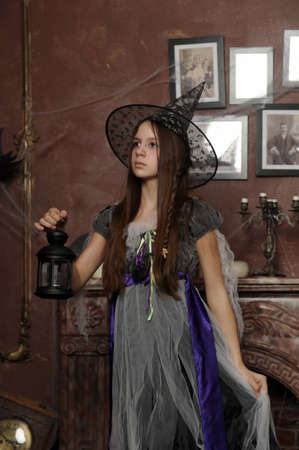 Halloween witch Stock Photo - 19000558